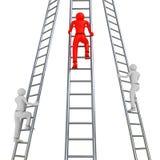 Соперничество лестницы иллюстрация штока