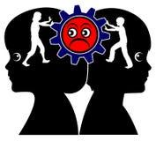 Соперничество и конкуренция отпрысков бесплатная иллюстрация
