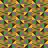 Соплеменная безшовная картина Геометрический африканский стиль бесплатная иллюстрация