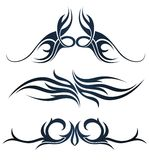 Соплеменная татуировка искусства иллюстрация вектора