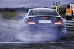 сопротивление mercedes benz участвует в гонке Стоковая Фотография RF