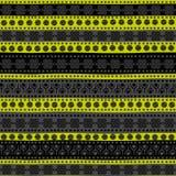 Соплеменная безшовная картина Стоковое фото RF