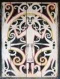 соплеменное Индонесии dayak культуры традиционное Стоковые Фотографии RF