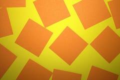 сорванная бумага желтый цвет предпосылки померанцовый стоковое фото