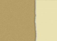 сорванная бумага картона Стоковые Изображения RF