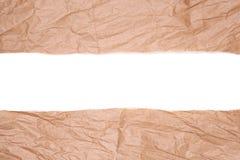 Сорванная бумага пакета Стоковое Изображение