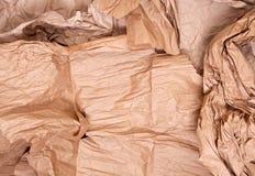 Сорванная бумага пакета Стоковое фото RF