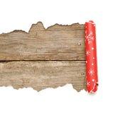 сорванная бумага рождества декоративная Стоковые Фотографии RF