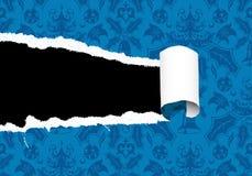 сорванная бумага рождества Стоковая Фотография RF