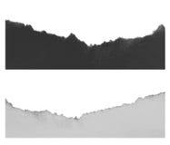 Сорванная бумага, часть сорванной бумаги стоковое изображение rf