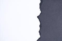 Сорванная бумага стоковые изображения