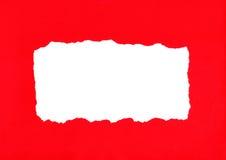сорванная бумага Стоковые Фото