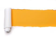 сорванная бумага Стоковые Фотографии RF