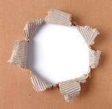 сорванная бумага Стоковое фото RF