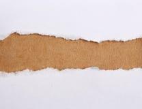 сорванная бумага Стоковая Фотография RF