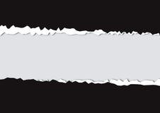 сорванная бумага Стоковая Фотография