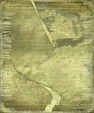 сорванная бумага grunge предпосылки bamboo Стоковые Изображения RF