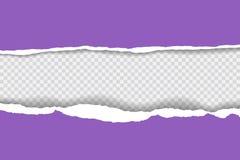 Сорванная бумажная предпосылка с космосом для текста Конструируйте вектор шаблона иллюстрации для знамени интернет-страницы, лент Стоковая Фотография