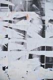 Сорванная бумажная текстура Стоковые Фото
