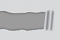 Сорванная иллюстрация вектора pape иллюстрация штока