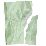Сорванная и скомканная покрашенная бумага Стоковое Изображение RF