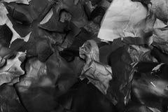 Сорванная покрашенная бумага, текстура, предпосылка Стоковые Изображения