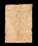 Сорванная предпосылка текстурированная пергаментом бумажная Стоковая Фотография