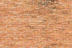 Сорванная текстура кирпича стороны Стоковая Фотография RF