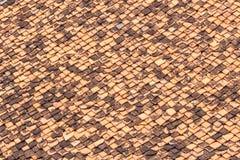 Сорванная текстура кирпича стороны Стоковые Фото