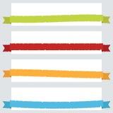 Сорванные знамена тесемки бесплатная иллюстрация