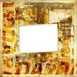 сорванные плакаты grunge предпосылки старые Стоковые Изображения RF