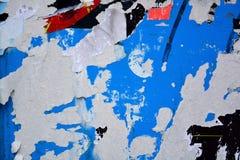 сорванные плакаты Стоковое фото RF