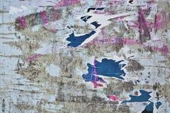 сорванные плакаты Стоковая Фотография RF