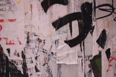 сорванные плакаты Стоковые Фото
