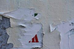 сорванные плакаты Стоковое Изображение RF