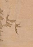 сорванный картон Стоковая Фотография RF