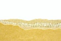 сорванный картон Стоковое Изображение RF