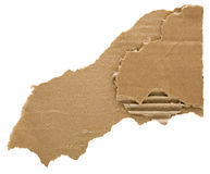 Сорванный картон Стоковое фото RF