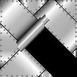 Сорванный металл Стоковые Изображения