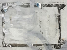 сорванный плакат grunge предпосылки Стоковое Изображение