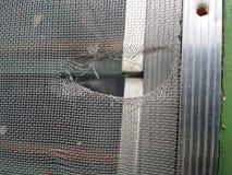 Сорванный экран окна Стоковые Изображения RF