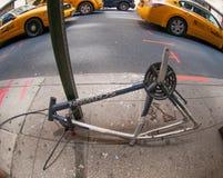 Сорвал вниз велосипед Стоковое фото RF