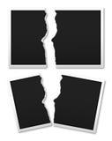 Сорвите бумагу фото Стоковые Фото