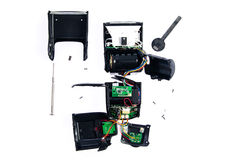 Сорвите вниз вспышки для ремонта (аксессуара камеры Стоковые Изображения RF