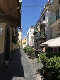 Сорренто, городской пейзаж пейзажа Италии стоковые фото