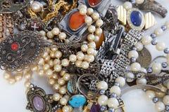 Сортированная куча jewellery Стоковые Изображения