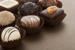 сортированная лакомка шоколада bonbons Стоковое Изображение RF