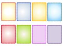 сортированная текстурированная весна бумаги предпосылок Стоковое фото RF