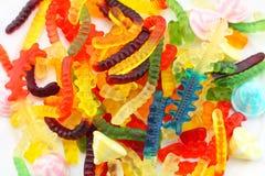 Сортированное камедеобразное конфеты Стоковая Фотография