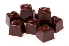 сортированное nutwood шоколадов стоковые изображения